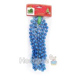 Бусы пластиковые AR2 / 2M-12R-B, на планшете, синие