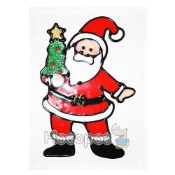 Новорічна наклейка 8620D/K Сніговик/Санта