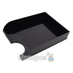 Лоток для документов КИП горизонтальный ЛГ-04 черный