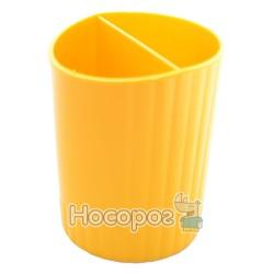 Стакан для ручек КИП СТРП-02 желтый