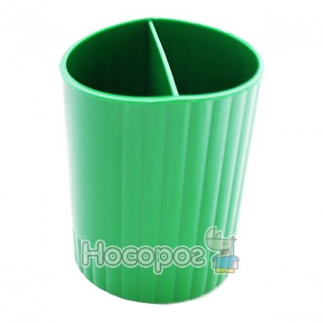 Фото Стакан для ручок КІП СТРП-02 зелений
