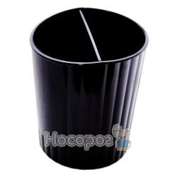 Стакан для ручек КИП СТРП-02 черный
