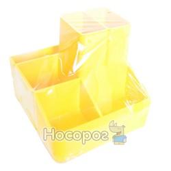 Подставка для ручек КИП СТРП-04 желтая