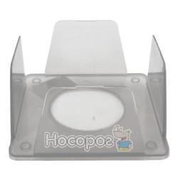 Бокс для бумаг КИП 9*9*4,5 см, прозрачный