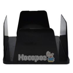Бокс для паперів КІП 9*9*4,5 см, чорний