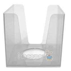 Бокс для бумаг КИП 9*9*9 см, прозрачный