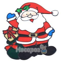 """Подвеска-декорация для окон """"Санта Клаус"""" CPD-6742"""