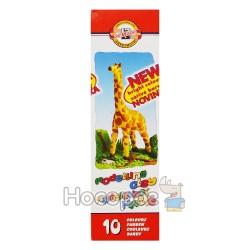 Пластилін KOH-I-NOOR 10 кольорів, картон