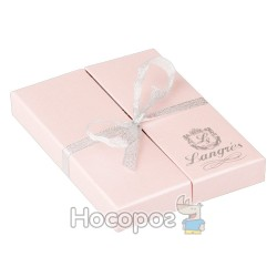 """Набір подарунковий """"Rose"""": ручка кулькова + брелок, рожевий"""