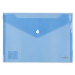 Папка на кнопці А5, синя