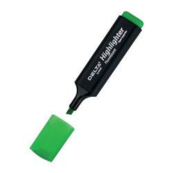 Маркер Highlighter D2501, 1-5 мм клиноп. зеленый