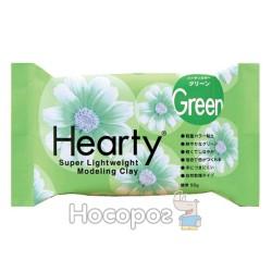 Пластика самозастывающая Padico Hearty зеленая