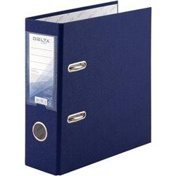 Папка-регистратор А5 одностор. PP 7,5cм, собр, синяя