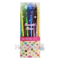 Ручка гелевая Beautiful Flower №666