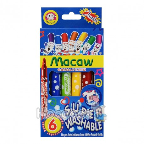 Фломастеры Macaw MC2578-6