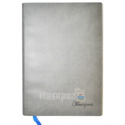 Блокнот Bourgeois эко-кожа, серый 622 130684