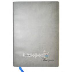 Блокнот Bourgeois еко-шкіра, сірий 622 130684