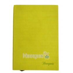 Блокнот Bourgeois эко-кожа, зеленый 622 130684
