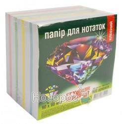 Папір для нотаток CRYSTAL 900 арк., мікс, клеєний