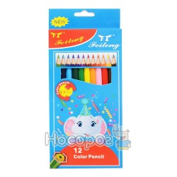 Карандаши цветные FeiTeng 21218-СР003