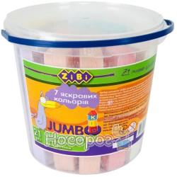 Мел цветной квадратный Zibi JUMBO ZB.6714-99