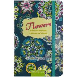 Блокнот детский Flowers 7739-А6-W