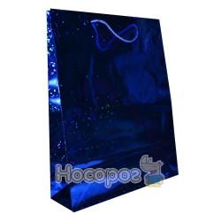 Пакет подарунковий Голограма 39х32х9 см