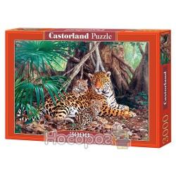 "Пазл ""Castorland"" Jaguars in the Jungle 3000"
