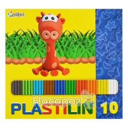 Пластилін Міцар Дитячий 10 кольорів