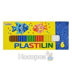 Пластилин Мицар Детский 6 цветов