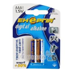 Батарейки минипальчик ААА Энергия 1.5V LR03 U-2 digital alkaline