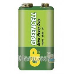 Батарейки GP Greencell 1604GLF-2S1 крона 4891199002205 (10/200)