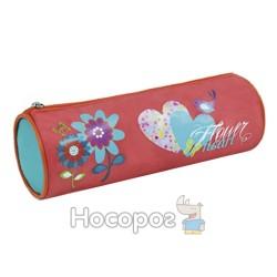 """Пенал шкільний """"Flower Heart"""" OL-07415"""