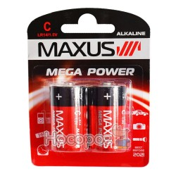 Батарейки MAXUS LR14/1.5V С-С2 средняя