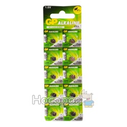 Батарейки Таблетка GP alkaline cell 177-U10 1,5V (Алкаліновий)