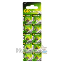 Батарейки Таблетка GP alkaline cell 164-U10 1,5V (Алкалиновый)