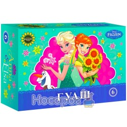 Фарби Гуаш Міцар Frozen 6 кол. Ц558012У