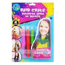 Крейда для волосся 4 кольори