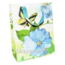 Пакет подарунковий на липучці Букет малий BL-FG-L017 (12 ШТ)