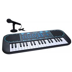 Муз.инст FIRST ACT DISCOVERY ELECTRONIC KEYBOARD BLUE STARS пианино с микрофон. 6417988