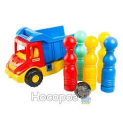 Вантажівка 39220 Multi truck з кеглями