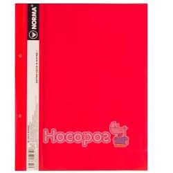 Скоросшиватель с прозрачным верхом Norma 5264 красный