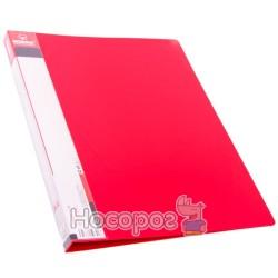 Папка с прижимом и карманом Norma 5034 красная