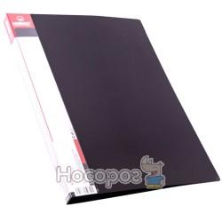 Папка с прижимом и карманом Norma 5034 черная