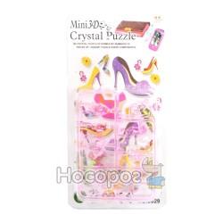 Пазлы 3D-кристалл 9029 туфли