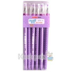 Ручка гелева Winning 571-1 синя