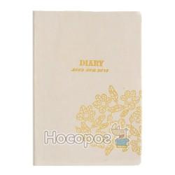 Блокнот Diary 14047С Mood for love белый