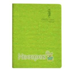 Блокнот Diary 14041Е салатовий