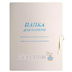 Папка для бумаг на завязках Утос