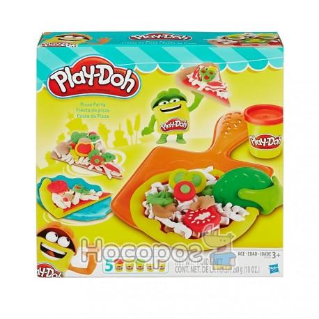 Фото Пластилін Play-Doh Hasbro в наборі Pizza Party B1856